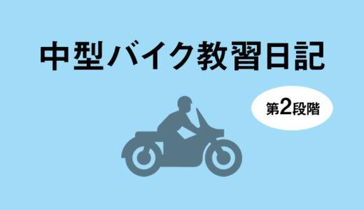 バイク教習日記(24)二段階みきわめ(2回目)
